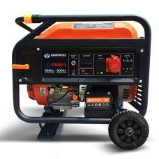Генератор бензиновый Daewoo Power GDA 7500E-3