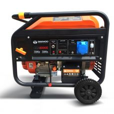 Генератор бензиновый Daewoo Power GDA 8000E