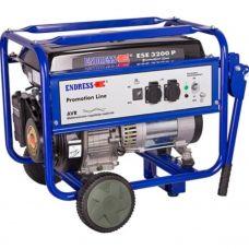 Генератор бензиновый Endress ESE 3200 P + набор колес