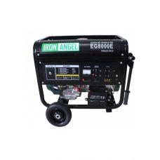 Генератор бензиновый IRON ANGEL  EG 8000 E