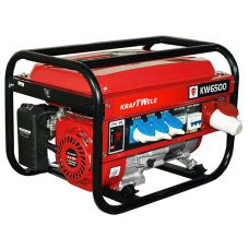 Бензиновый генератор Kraftwele OHV6500 3F 4,5KW