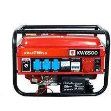 Бензиновый генератор Kraftwele OHV6500 3F 4,5KW EL