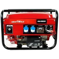 Бензиновый генератор Kraftwele OHV6500 4,5KVA 1F EL