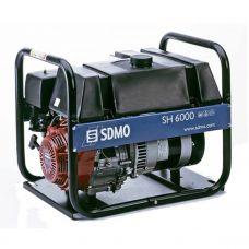 Генератор бензиновый SDMO SH 6000 S
