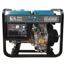 Генератор дизельний Könner&Söhnen KS 6000 D