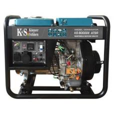 Генератор дизельний Könner&Söhnen KS 8000 DE ATSR