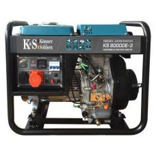 Генератор дизельний Könner&Söhnen KS 8000 DE-3
