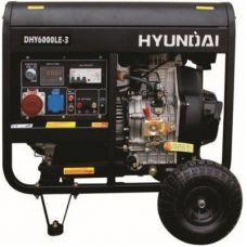 Дизельный генератор Hyundai DHY 6000LE-3