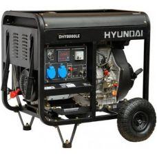 Дизельный генератор Hyundai DHY 8000LE