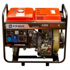 Генератор дизельный KJ Power KDE 6500E