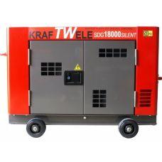 Дизельный генератор Kraftwele SDG18000 SILENT