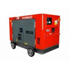 Дизельный генератор Kraftwele SDG28000 SILENT ATS