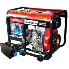 Дизельный генератор Kraftwele SDG7800 1F ATS