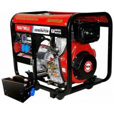 Дизельный генератор Kraftwele SDG7800 3F ATS