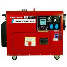 Дизельный генератор Kraftwele SDG9800S 1F