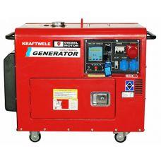 Дизельный генератор Kraftwele SDG9800S 3F