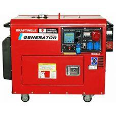 Дизельный генератор Kraftwele SDG9800S 3F ATS