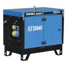 Генератор дизельный SDMO Diesel 6000 E Silence + MODYS