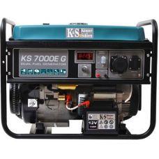 Двухтопливный генератор Könner & Söhnen KS 7000 E-G
